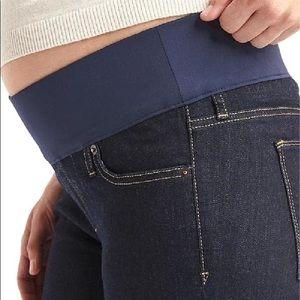 Gap Always Skinny Maternity Jeans Demi Panel